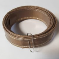 Teflon tape stitched 25 x 0,3 mm with a guide- VS95