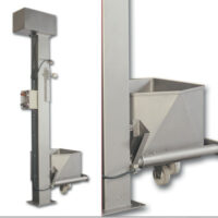 Elevator for trolleys with a capacity of 200l, Fatosa EC 200,250,280