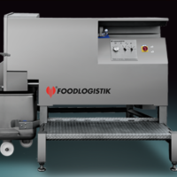 Dicer up to 2400kg/h - Foodlogistik Capacity 120