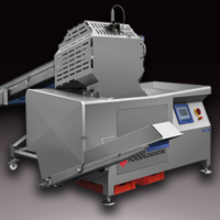 Cheese dicer 3000kg/h - Foodlogistik Cheese line 200