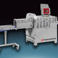 Slicer into 500 slices per minute, Automat - Foodlogistik Line 25
