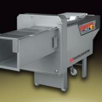 Slicer for soft products into slices 2300 kg/min - Foodlogistik Capacity 120