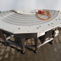 Angular belt conveyor