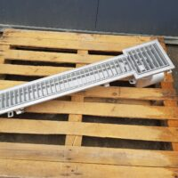 Stainless steel linear drain S140